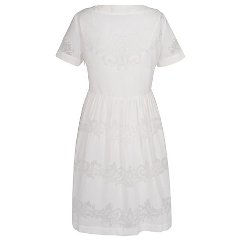 Buy French Connection Seville Dress, Daisy White Online at johnlewis.com