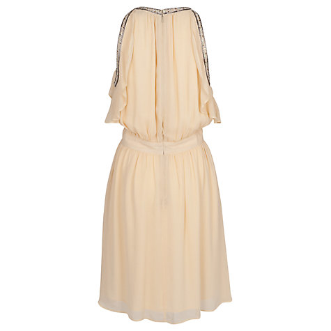 Buy French Connection Crystal Dress, Vanilla Cream/Multi Online at johnlewis.com