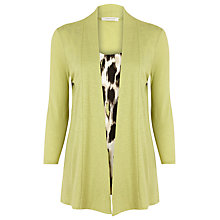 Buy Windsmoor 2 in 1 Cardigan, Green Online at johnlewis.com