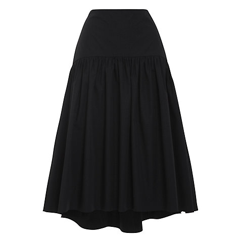 Buy Lauren by Ralph Lauren Yoke Full Skirt, Black Online at johnlewis.com