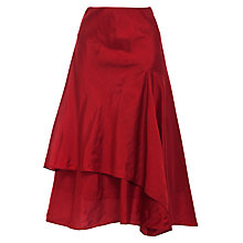 Buy Lauren by Ralph Lauren Asymmetrical Skirt, Tomato Online at johnlewis.com