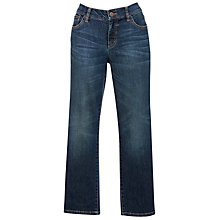 Buy Lauren by Ralph Lauren Modern Slimming Straight Leg Cropped Jeans, Blue Online at johnlewis.com