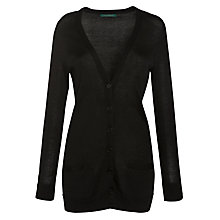 Buy Lauren by Ralph Lauren Long Button Front Cardigan Online at johnlewis.com