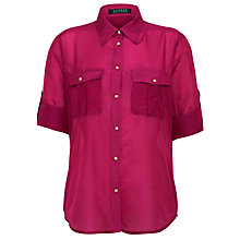 Buy Lauren by Ralph Lauren Short Sleeve Workshirt Online at johnlewis.com