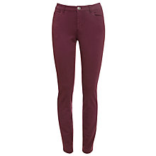 Buy Weekend by MaxMara Legging Jeans, Bordeaux Online at johnlewis.com