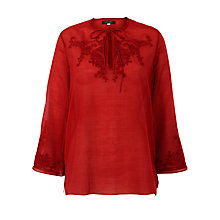 Buy Lauren by Ralph Lauren Split V-Tie Top Online at johnlewis.com