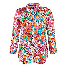 Buy Lauren by Ralph Lauren Printed Shirt, Cream Multi Online at johnlewis.com