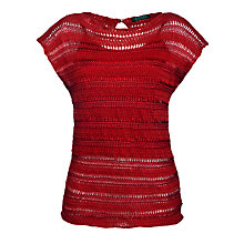 Buy Lauren by Ralph Lauren Open Stitched Boat Neck Jumper Online at johnlewis.com