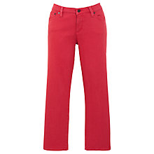 Buy Lauren by Ralph Lauren Slim Cropped Jeans, Artist Red Online at johnlewis.com