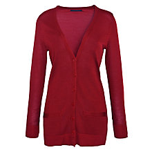 Buy Luren by Ralph Lauren Long Button Front Cardigan Online at johnlewis.com