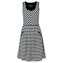 Buy Jigsaw Chevron Stripe Dress Online at johnlewis.com