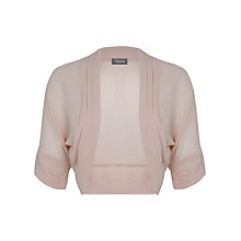 Buy Alexon Chiffon Bolero, Cream Online at johnlewis.com