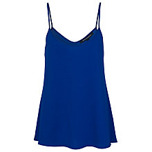 Buy French Connection Polly Vest Top, Royal Blue Online at johnlewis.com