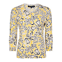 Buy French Connection Daisy Flower Cardigan, Yellow/Black Online at johnlewis.com