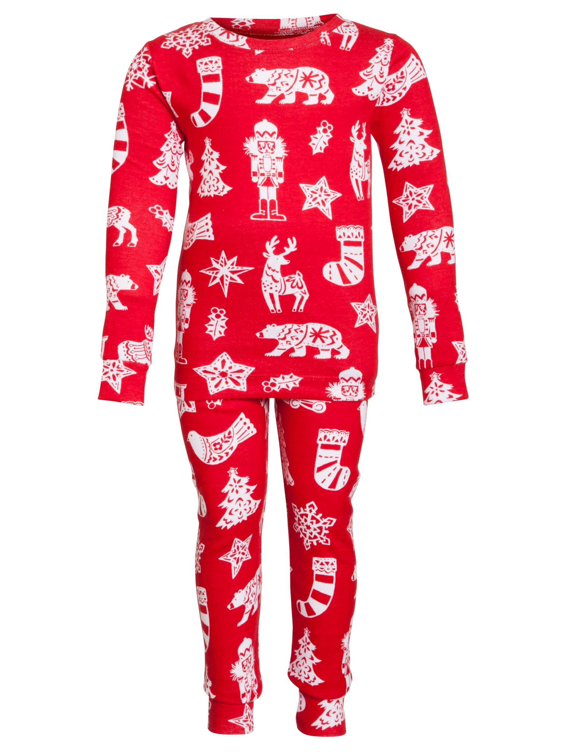 Hatley Christmas Pyjamas, Red