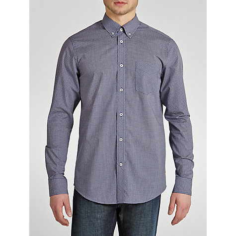 Buy Ben Sherman Mini Check Short Sleeve Shirt Online at johnlewis.com