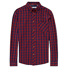 Buy Ben Sherman Indigo Check Long Sleeve Shirt Online at johnlewis.com