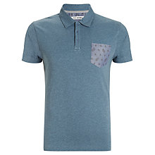 Buy Ben Sherman Garment Dye Polo Shirt Online at johnlewis.com