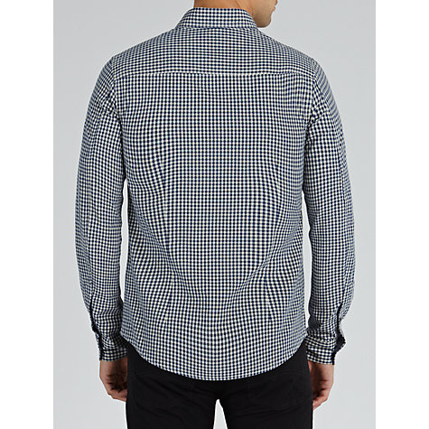 Buy Armani Jeans Tonal Gingham Long Sleeve Shirt Online at johnlewis.com