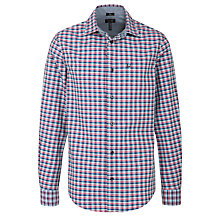 Buy Armani Jeans Small Check Long Sleeve Shirt Online at johnlewis.com