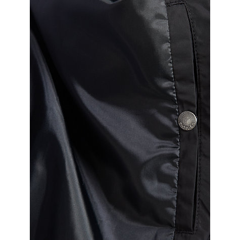 Buy Diesel Jeffir Bomber Jacket, Black Online at johnlewis.com