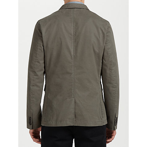 Buy Ben Sherman Staples Cotton Blazer, Gunmetal Online at johnlewis.com