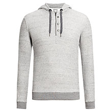 Buy Diesel Smutsu Hood Cotton Jumper Online at johnlewis.com