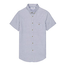 Buy Ben Sherman Laundered Horizontal Stripe Shirt Online at johnlewis.com