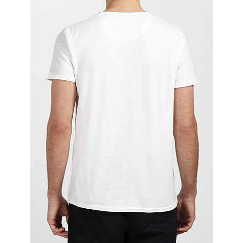Buy Ben Sherman Portrait T-Shirt, Bright White Online at johnlewis.com