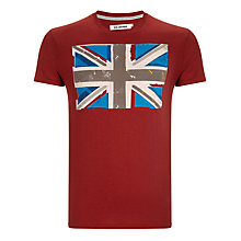 Buy Ben Sherman Union Jack Print T-Shirt Online at johnlewis.com