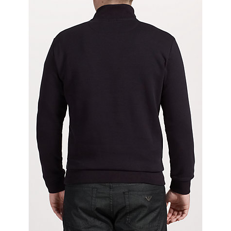 Buy Armani Jeans Half Zip Jumper Online at johnlewis.com