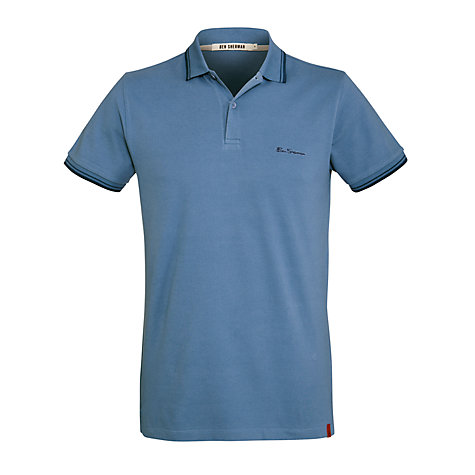 Buy Ben Sherman Trim Pique Polo Shirt Online at johnlewis.com