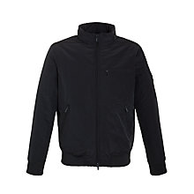 Buy Armani Jeans Conceal Hood Harrington Jacket, Navy Online at johnlewis.com