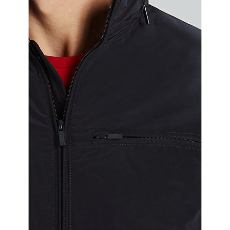 Buy Armani Jeans Conceal Hood Harrington Jacket Online at johnlewis.com