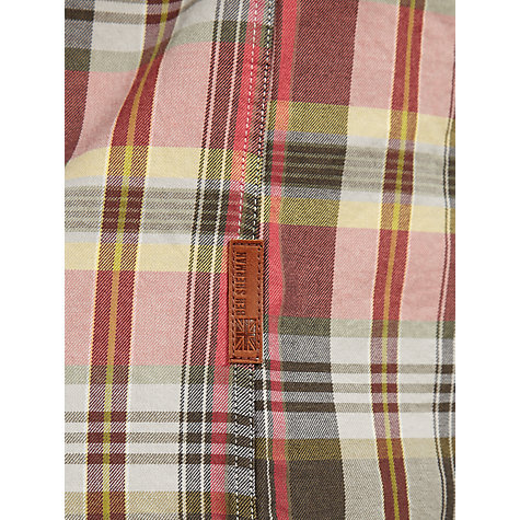 Buy Ben Sherman Madras Twill Cotton Check Shirt Online at johnlewis.com