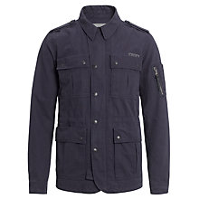 Buy Diesel J-Rebel Cotton Field Jacket, Navy Online at johnlewis.com