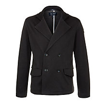 Buy Armani Jeans Button Through Peacoat Online at johnlewis.com
