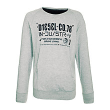 Buy Diesel Seki Logo Crew Neck Jumper Online at johnlewis.com