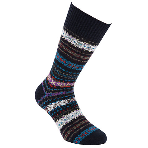Buy Barbour Boyd Print Socks Online at johnlewis.com