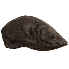 Buy Barbour Cord Cap, Brown Online at johnlewis.com