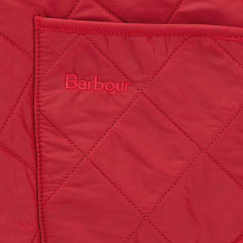 Buy Barbour Liddesdale Quilted Dog Coat, Red Online at johnlewis.com