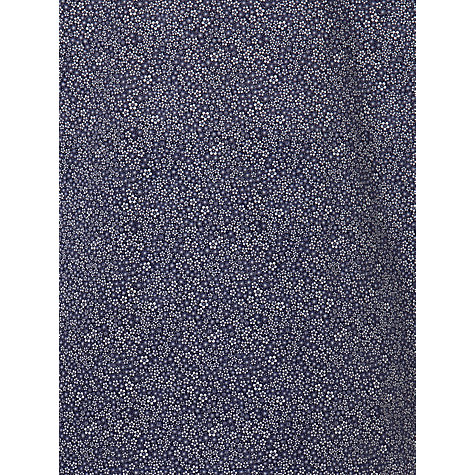 Buy Derek Rose Dixie Floral Print Pyjamas, Blue Online at johnlewis.com