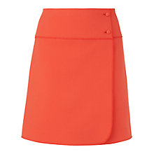 Buy Jaeger Wrap A-Line Skirt, Orange Online at johnlewis.com