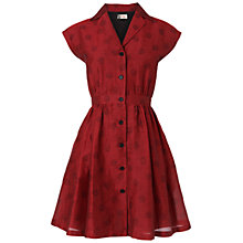 Buy Boutique by Jaeger Open Shirt Sundress, Red Online at johnlewis.com