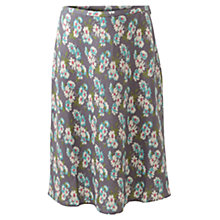 Buy East Daisy Printed Skirt, Light Steel Online at johnlewis.com