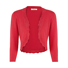 Buy Precis Petite Crochet Bolero, Raspberry Online at johnlewis.com