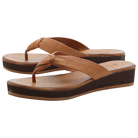 Buy Bertie Jinfer Leather Sandals Online at johnlewis.com