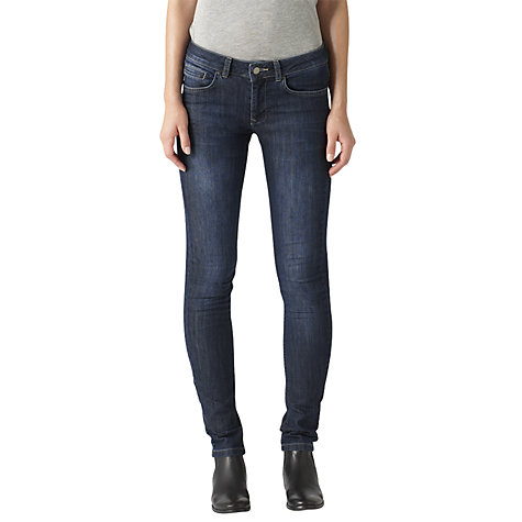 Buy Jigsaw Richmond Skinny Jeans, Indigo Online at johnlewis.com