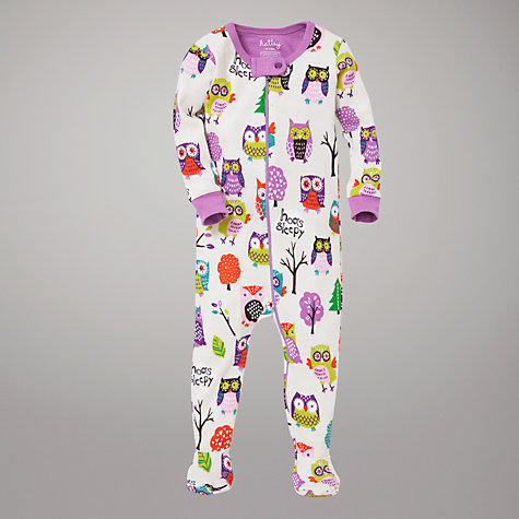 Buy Hatley Owls Sleepsuit Online at johnlewis.com