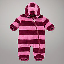 Buy Hatley Girls Rugby Stripe Sleepsuit Online at johnlewis.com